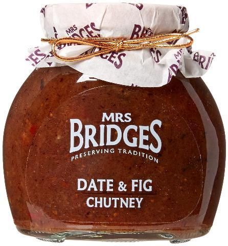 CHUTNEY ΜΕ ΧΟΥΡΜΑ & ΣΥΚΟ MRS BRIDGES 295G