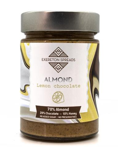 ALMOND LEMON CHOCOLATE SPREAD 350g