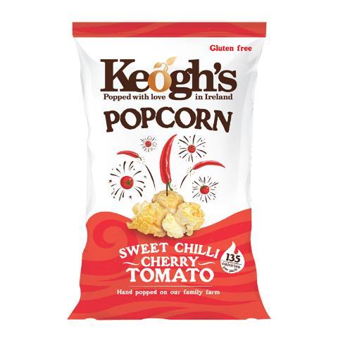 KEOGH'S POPCORN SWEET CHILLI CHERRY TOMATO
