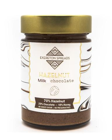 HAZELNUT MILK CHOCOLATE SPREAD 350g