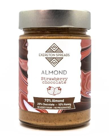 ALMOND STRAWBERRY CHOCOLATE SPREAD 350g