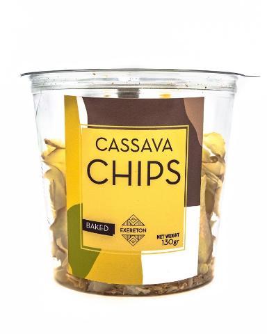 CASSAVA CHIPS 130G